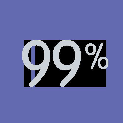 99% icon
